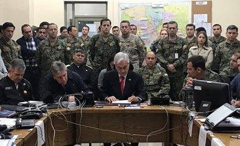 """Sebastián Piñera, sobre la crisis en Chile: """"estamos en guerra""""   Chile"""