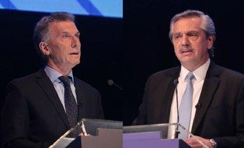 Macri y Fernández se increparon y se vivieron momentos de tensión | Debate 2019