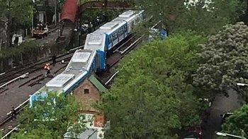 Descarriló un tren del ramal Mitre cerca de la estación Tigre  | Incidentes