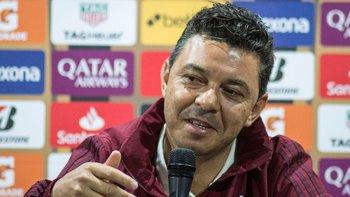 Gallardo confirmó el equipo para enfrentar a Boca | Copa libertadores