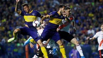 Polémica en el Superclásico: ¿Fue mano de Mas en el gol anulado a Salvio? | Superclásico