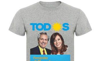 Toda remera es política: el boom de las compras de camisetas para las elecciones | Elecciones 2019