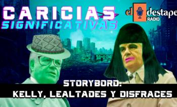 Storybord: Kelly, el maestro del disfraz que más incomodó a Mirtha | Tomás rebord
