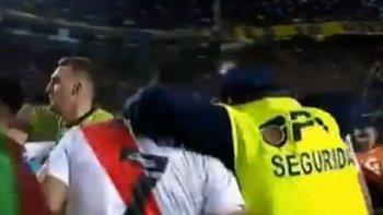 River contrató al hombre de seguridad que festejó en La Boca | River plate