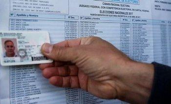 ¿Con qué documento se puede votar? | Elecciones 2019