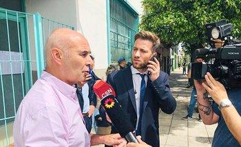 Gomez Centurión votó y denunció que le robaron boletas a su partido  | Elecciones 2019