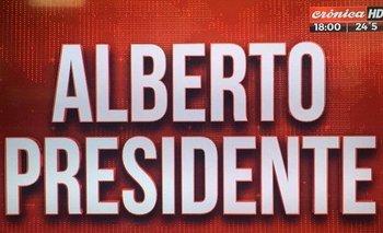 Las desopilantes placas de Crónica TV por las elecciones  | Elecciones 2019