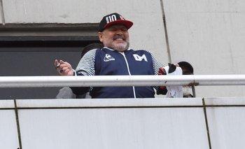 El baile de Maradona en Rosario que es furor en las redes | Viral