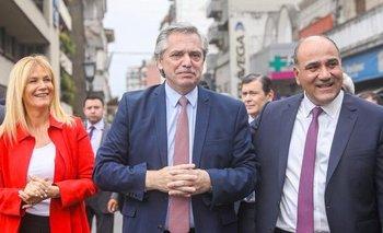 Alberto Fernández acompañó a Juan Manzur en su asunción como gobernador | Elecciones 2019