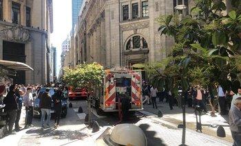 Se incendia la sede central del Banco Nación  | Banco nación