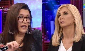 El fuerte cruce de Cynthia García y Débora Plager por el periodismo oficialista | America tv