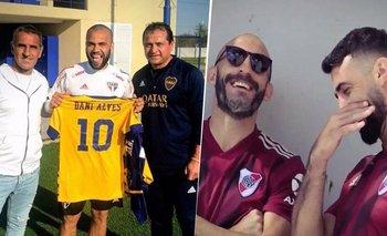 Dani Alves: los memes de River tras dejarlo fuera de la Copa Libertadores | Copa libertadores