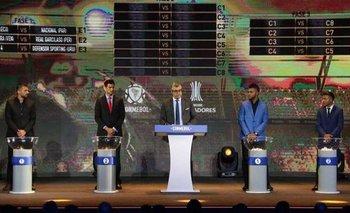 Sorteo de la Libertadores y la Sudamericana: cuándo es y cómo verlo por TV   Fútbol