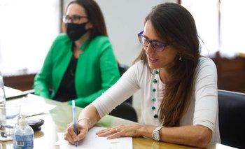 Gómez Alcorta acordó con Neuquén implementar el Plan Acompañar | Paridad de género