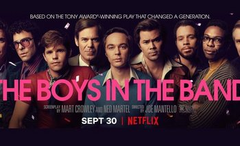 Los chicos de la banda: agridulce versión del éxito de Broadway | Estrenos de cine