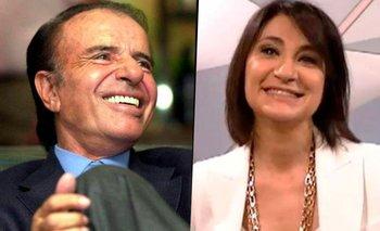 María Laura Santillán recordó su vieja relación con Carlos Menem   Televisión