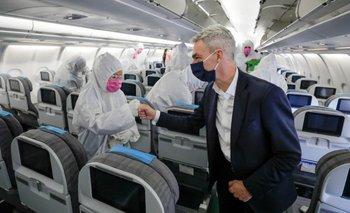 El Gobierno avanza en sistemas de desinfección en los aeropuertos | Transporte