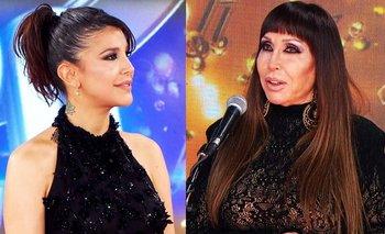 El tenso reencuentro entre Andrea Rincón y Moria Casán | Cantando 2020