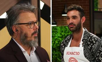MasterChef Celebrity: Donato escupió el plato de Ignacio Sureda   Televisión
