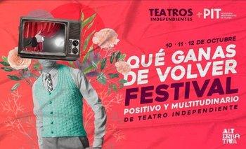 El teatro independiente no se rinde y lanza un increíble festival | Teatro