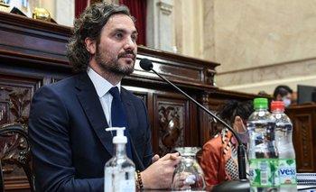 Santiago Cafiero ratificó el respaldo del Gobierno a Rafecas | Congreso de la nación