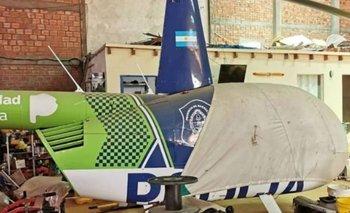 Helicóptero que usó la gestión Vidal fue encontrado en operativo anti drogas | Narcotráfico