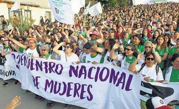 Comienza el encuentro Plurinacional de Mujeres y disidencias | Encuentro nacional de mujeres