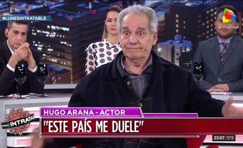El día que Hugo Arana le agradeció al peronismo | Peronismo