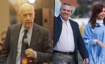 Contundente respaldo de Lavagna a Alberto Fernández y Cristina Kirchner | Roberto lavagna