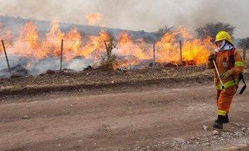 El Gobierno otorgará 10 mil pesos a quienes combatan incendios | Incendios