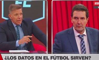 Fantino vs. Miguel Simón: la tensa discusión que se vivió en ESPN FC | Espn fc show