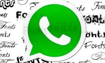 WhatsApp: cómo cambiar la letra en tus conversaciones | Celulares