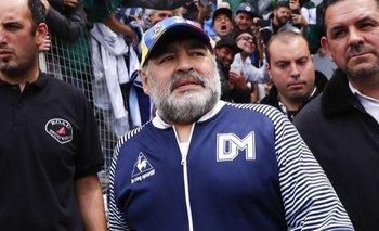 Las hinchadas del fútbol argentino despidieron a Diego Maradona | Murió diego maradona