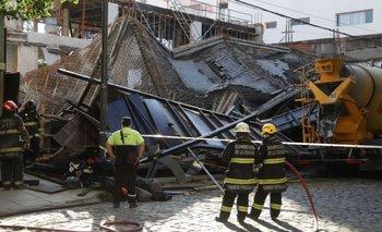 Belgrano: rescatan a dos personas atrapadas tras el derrumbe en una obra | Ciudad