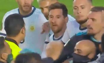 Moreno Martins rompió el silencio tras la pelea con Messi en La Paz   Fútbol