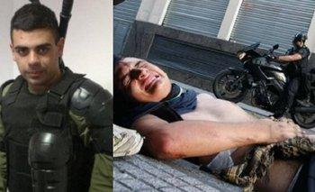 Condenaron a policía que pisó a un joven en la reforma previsional | Reforma previsional
