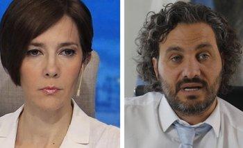 Ataque de rabia: Cristina Pérez trató de fascista a Cafiero | Medios