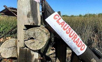 Tigre: clausuraron emprendimientos ilegales en la zona del Delta | Provincia