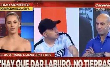 El machista comentario de El Dipy hacia una conductora de Crónica TV   El dipy