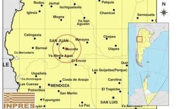 Un terremoto de magnitud 5.1 sacudió la provincia de San Juan | Terremoto
