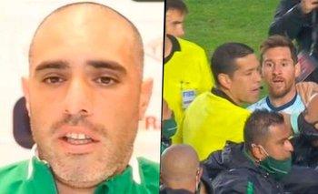 """El calvario del """"pelado"""" al que insultó Lionel Messi en Bolivia   Lionel messi"""