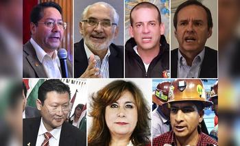 Elecciones en Bolivia 2020: quiénes son los candidatos  | Elecciones bolivia