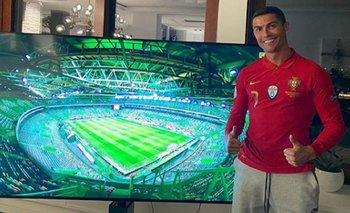 Nueva polémica con Cristiano Ronaldo: ¿violó el protocolo anti coronavirus? | Fútbol