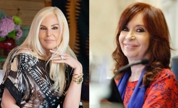 El gesto de Susana con CFK que enfureció a militantes macristas | En redes
