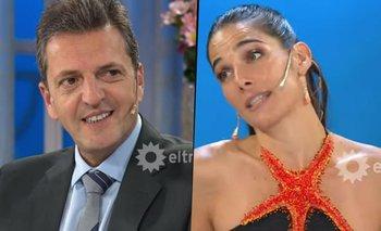 La inesperada confesión de Juana Viale a Sergio Massa   Televisión