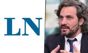 La furia de un periodista de La Nación por una nota contra Santiago Cafiero   Política