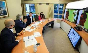 La llamativa frase de Alberto Fernández sobre el PJ, el PRO y la UCR  | Quinta de olivos