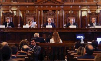 Inminente definición: la Corte analiza el traslado de los tres jueces | Corte suprema de justicia