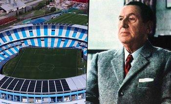 Racing: por qué una empresa podría sacar el nombre de Perón en el estadio | Racing club