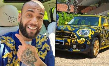 Dani Alves vende su auto de Boca por Mercado Libre: cuánto cuesta | Fútbol